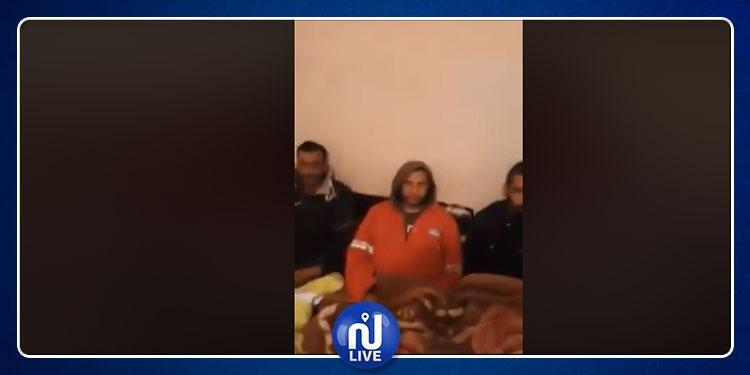 التونسيون المخطوفون في ليبيا يوجهون رسالة للحكومة التونسية (فيديو)