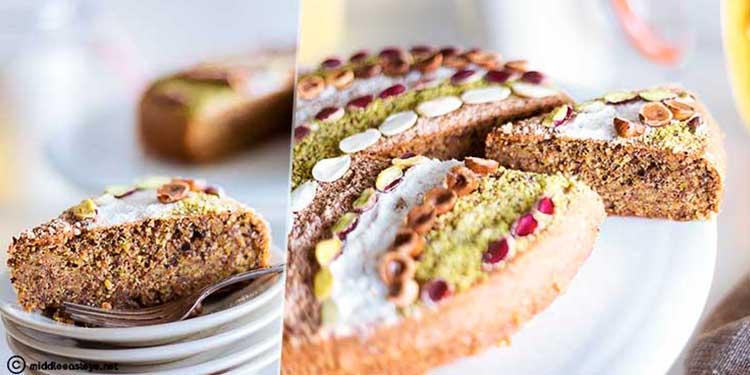 Khobzet fékia (gâteau aux fruits secs)