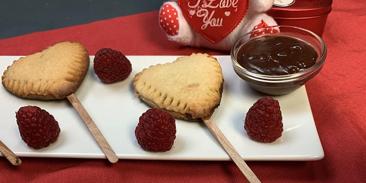 Biscuits Sucettes de la Saint-Valentin