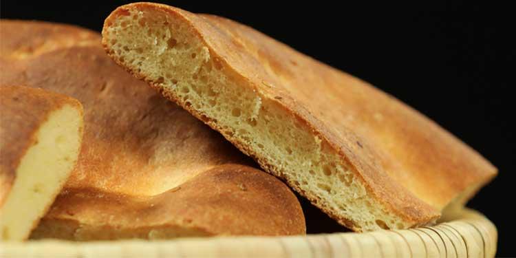 وصفة خبز الطابونة في الفرن