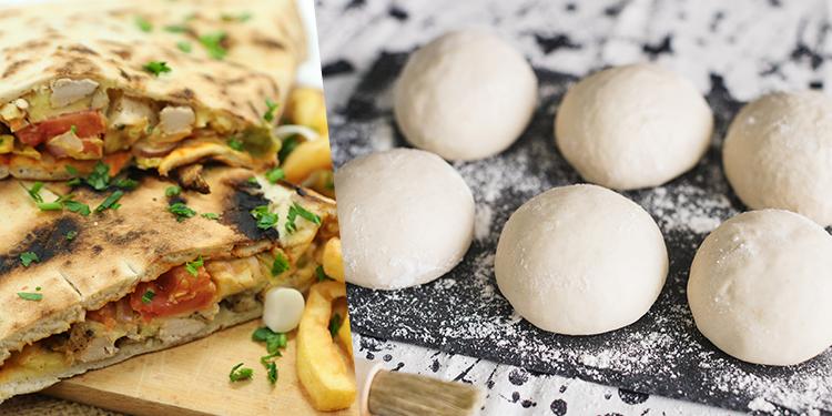 وصفة عجين خبز مقلوب تونسي دون فرن