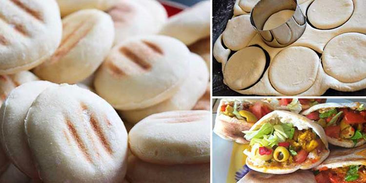 خبز البطبوط بطريقة ناجحة