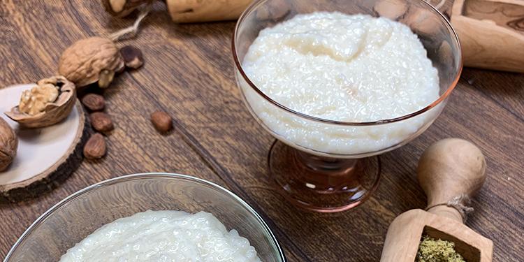 محلبية تونسية : تحلية بالأرز