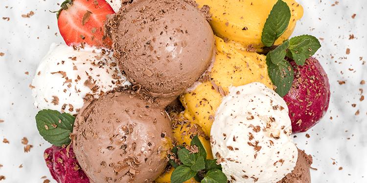 مثلجات ناجحة سهلة بنكهات مختلفة