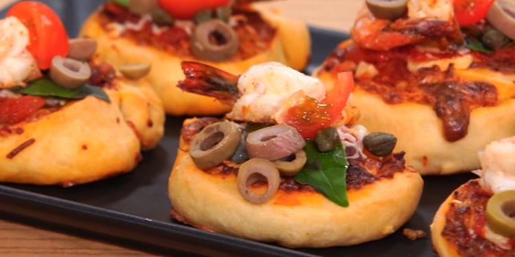 وصفة بيتزا رولي