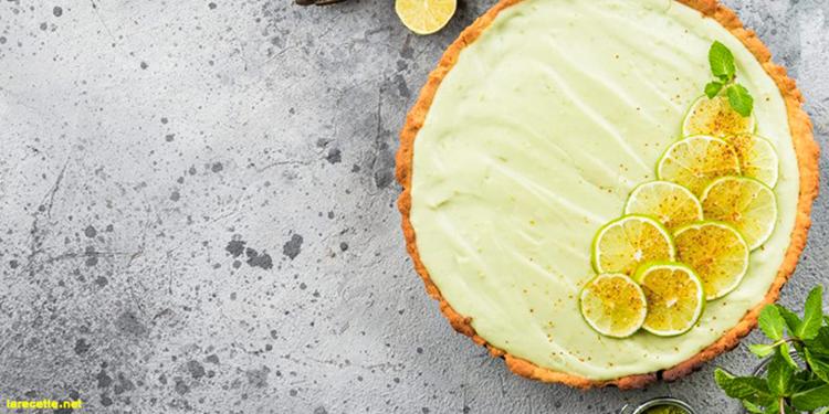 Tarte au citron vert façon Mojito