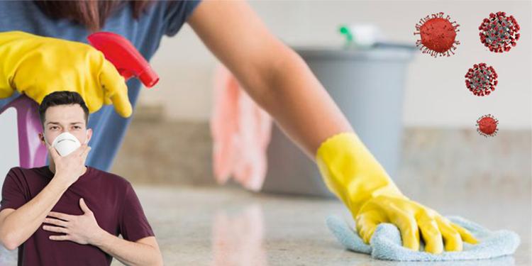 Coronavirus : Comment désinfecter sa maison ?