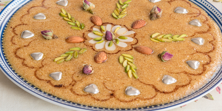 Tamina ou Gâteau Algerien du Mawlid nabawi