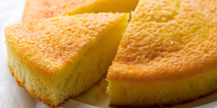 Gâteau nature sans farine