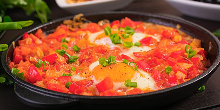 Menemen: une savoureuse omelette turque