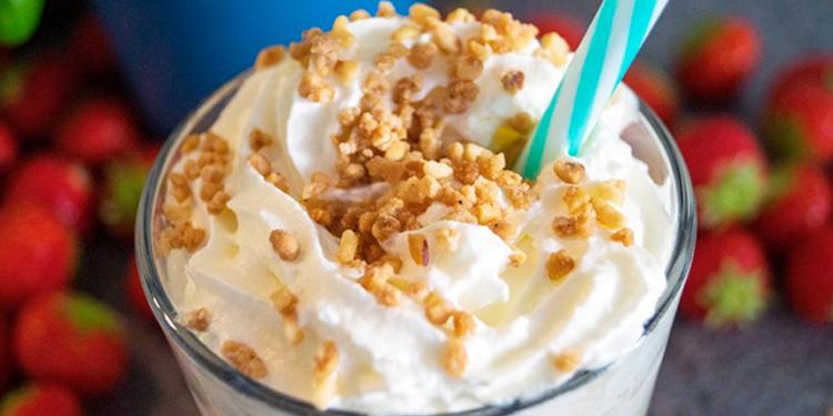 Milkshake simple à la vanille