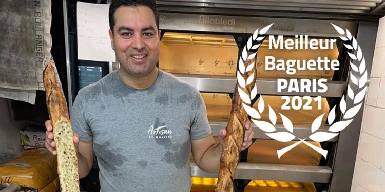 """Le Tunisien Makram Akrout, gagne le concours de la """"meilleure baguette de Paris"""""""
