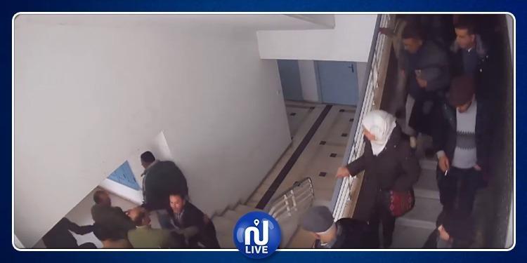 Tentative d'irruption dans le bureau de Ben Salem (vidéo)