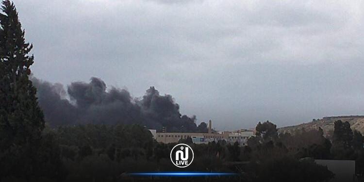 نابل: اندلاع حريق بوحدة صناعية