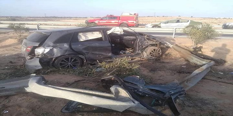الطريق السيارة قابس_صفاقس: حادث مروري مروّع