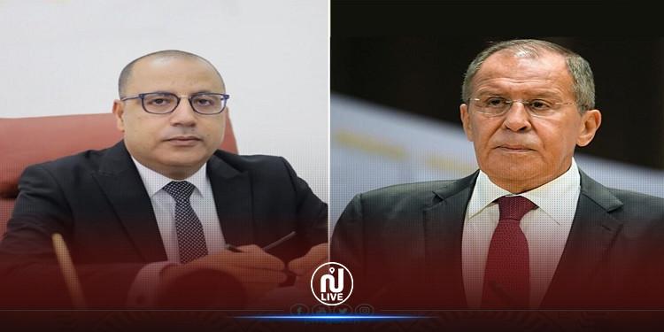 اتفاق بين المشّيشي ولافروف على الإسراع في تسليم تونس لقاحات كورونا