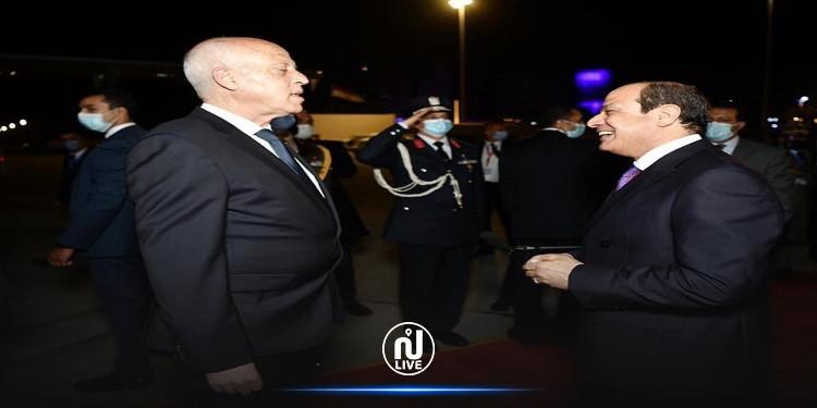 السّيسي يعلّق على زيارة سعيّد إلى مصر