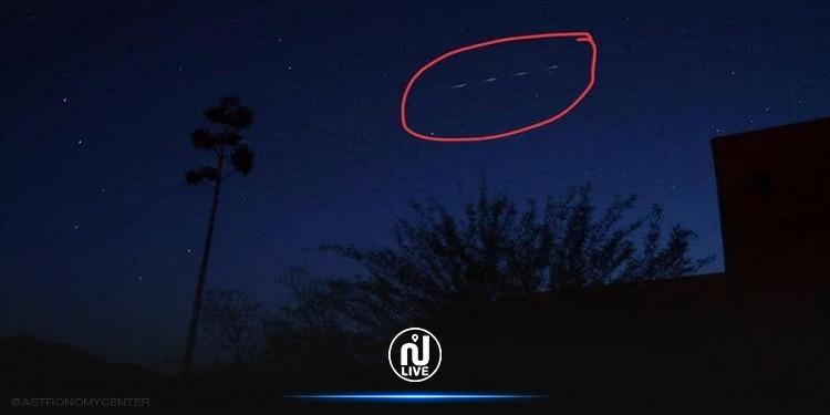 مركز الفلك الدولي : ما تم مشاهدة في السماء ليست  أقمار ستار لينك أنه حطام الصاروخ الصيني
