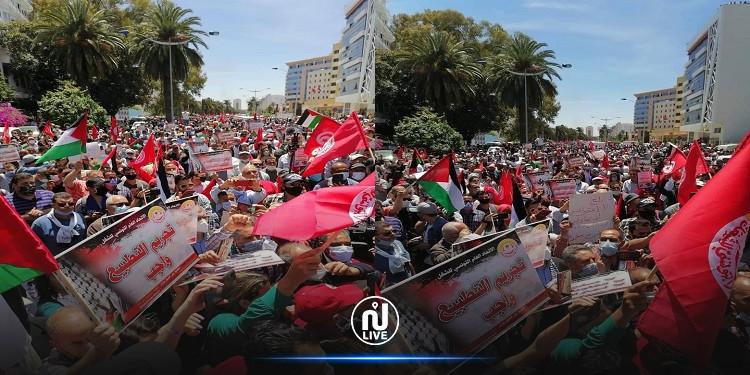 البحيري: الاعتداء على تونسيات متحجبات في المسيرة الوطنية المطالبة بتجريم التطبيع