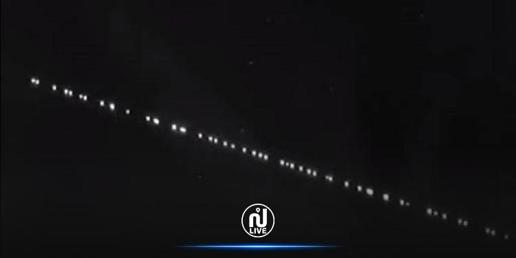 تمّت مشاهدته بالعين المجردة: مرور سرب من الأقمار الصناعية في سماء تونس