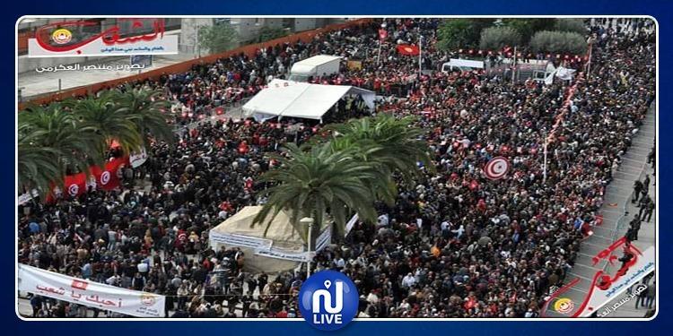 ''الإضراب العام وذكرى الثورة''.. تجمع نقابي ''حاسم'' لاتحاد الشغل
