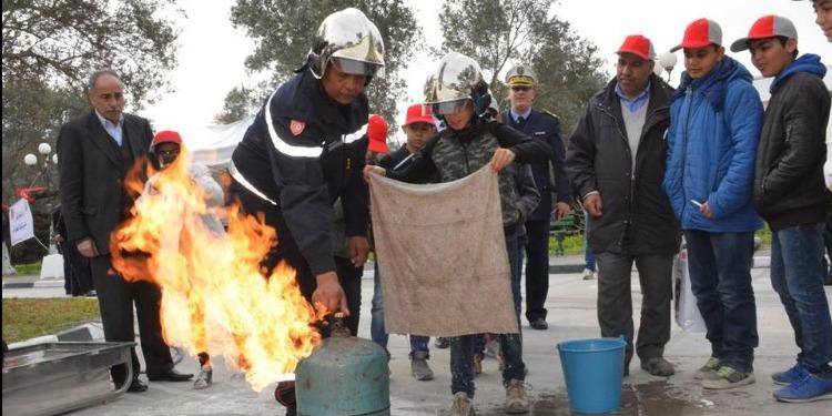 تونس تحتفل باليوم العالمي للحماية المدنية (صور)