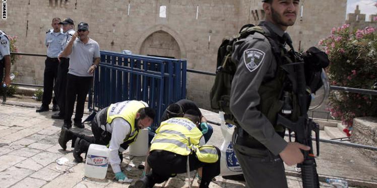 استشهاد شاب فلسطيني بمدينة الخليل المحتلة