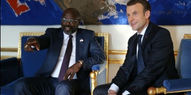 ماكرون يدعم مبادرة جورج وياه الرامية إلى تشجيع الرياضة بإفريقيا