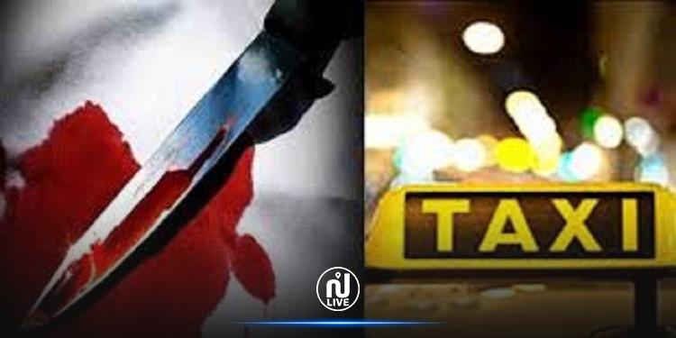 يقتل سائق تاكسي في سيارته ب 6 طعنات