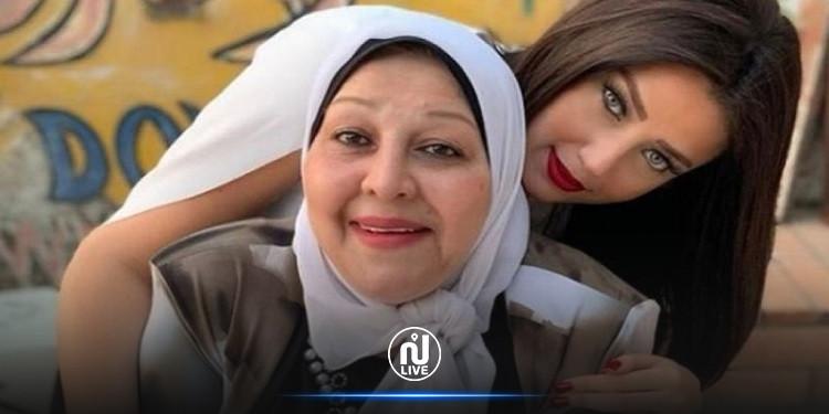 روضة الشربيني لأمّها في عيد الأمّهات: ''أول عيد أم من غيرك ''