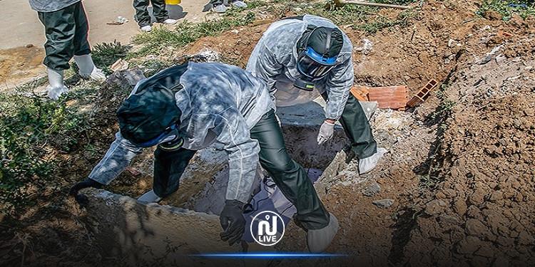 زغوان : تطعيم أعوان البلديات المكلّفين بنقل ودفن موتى الكوفيد