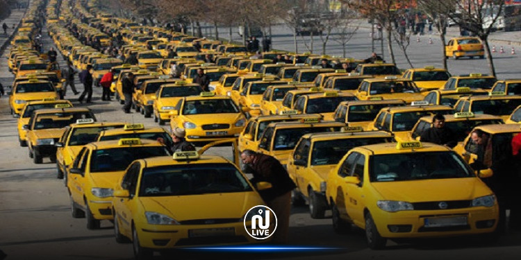 التاكسي الفردي يواصل عمله خلال فترة الحجر الصحي الشامل