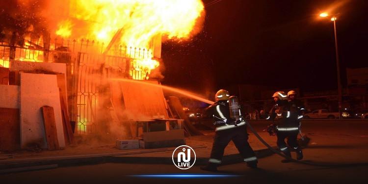 مصر: إصابة 10 أشخاص إثر احتراق مصنع فوانيس