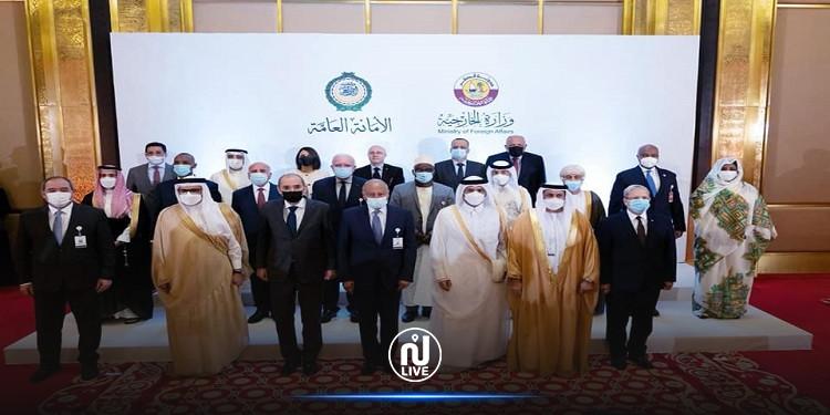 خلال زيارته إلى الدوحة: وزير الخارجية يدعو إلى حشد الدعم الدولي للقضية الفلسطينية