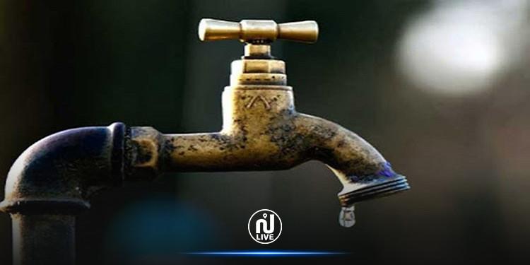 انقطاع توزيع مياه الشرب بهذه المناطق