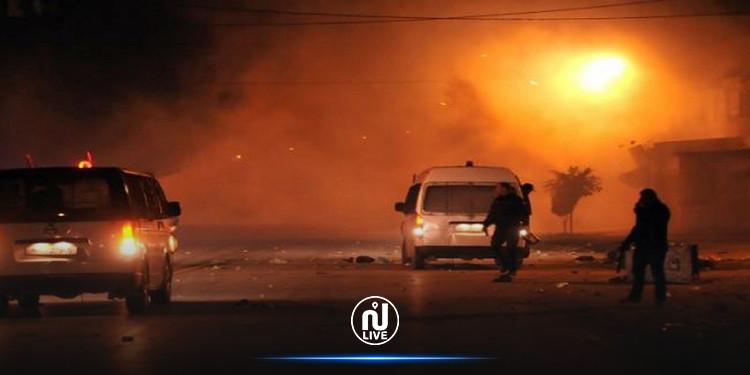 حي التضامن: مواجهات بين الأمن ومحتجين واستعمال الغاز المسيل للدموع