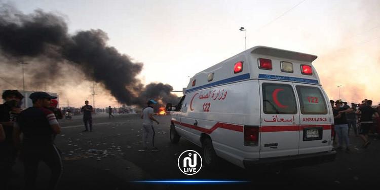 22 قتيلا وعشرات الجرحى بسبب انفجار عبوة ناسفة في سوق بالعراق