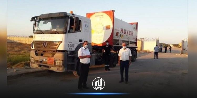 وصول شاحنة ليبية محمّلة بـ 5500 لتر من الأكسيجين إلى معبر رأس جدير