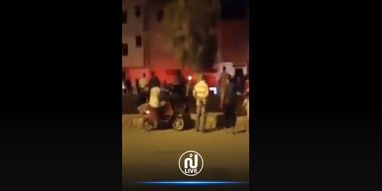 صفاقس: مواجهات عنيفة بين 40 إفريقيا والأمن يتدخّل (فيديو)