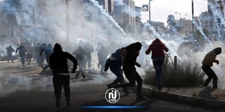 إصابة 41 فلسطينيّا في مواجهات على حدود قطاع غزة