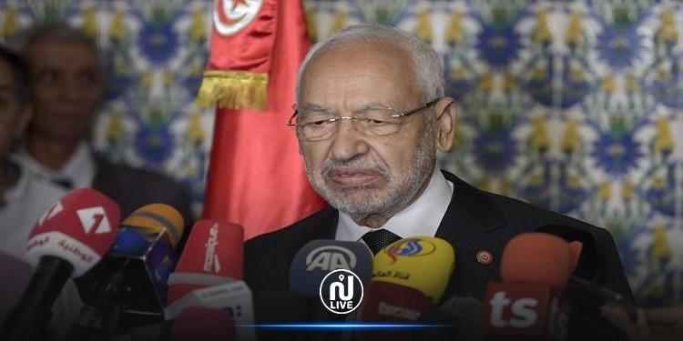 الغنوشي: 'نأمل في أن يطوي سعيّد صفحة الانقلاب بسرعة'