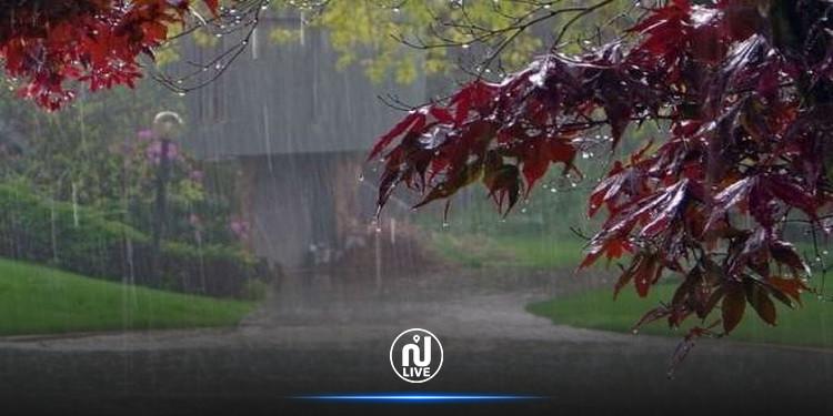 الليلة : أمطار رعدية بهذه المناطق