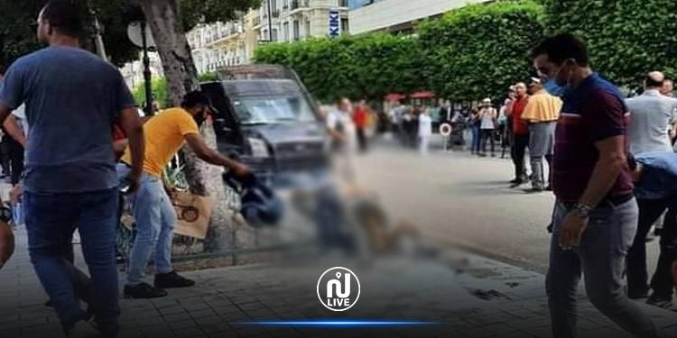 وفاة المواطن الذي أحرق نفسه  بشارع الحبيب بورقيبة