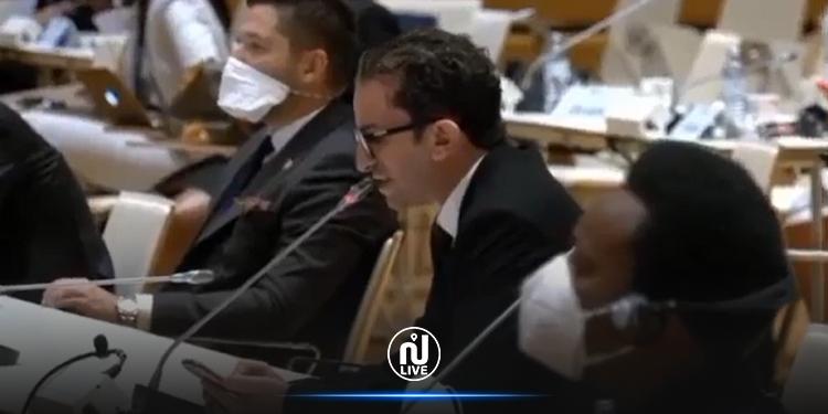 الخليفي يدعو الاتحاد البرلماني الدولي إلى تقديم موقف مساند للبرلمان التونسي