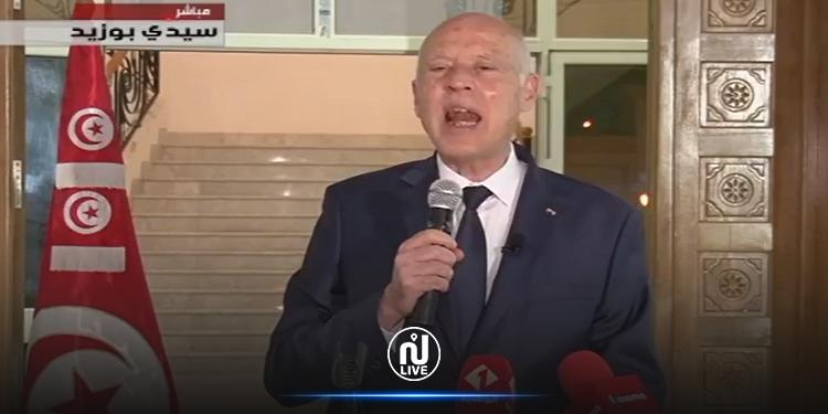 سعيّد: ستكون هناك  أحكام انتقالية وقانون انتخابي جديد