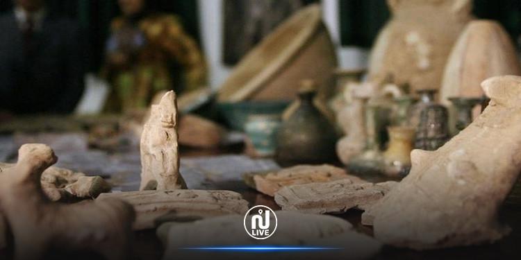 المهدية: حجز 25 قطعة أثرية بأحد المنازل بمنطقة سيدي علوان