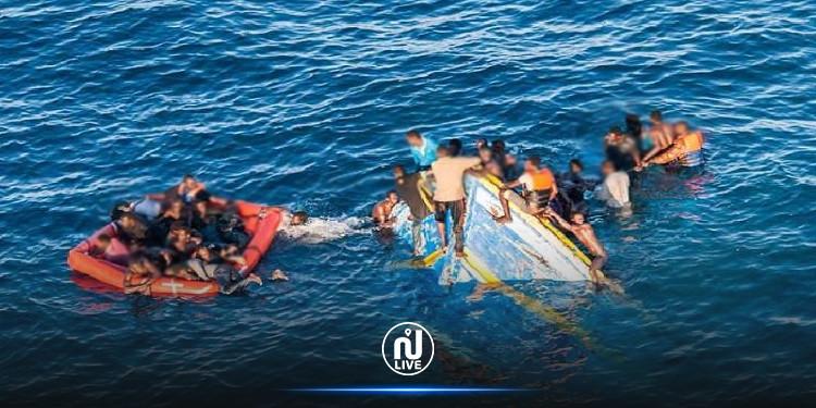 المهدية: إنقاذ 6  حرّاقة إثر  تعطب مركبهم في عرض البحر