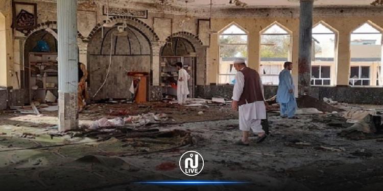 ''داعش'' يعلن مسؤوليته عن تفجير مسجد بأفغانستان