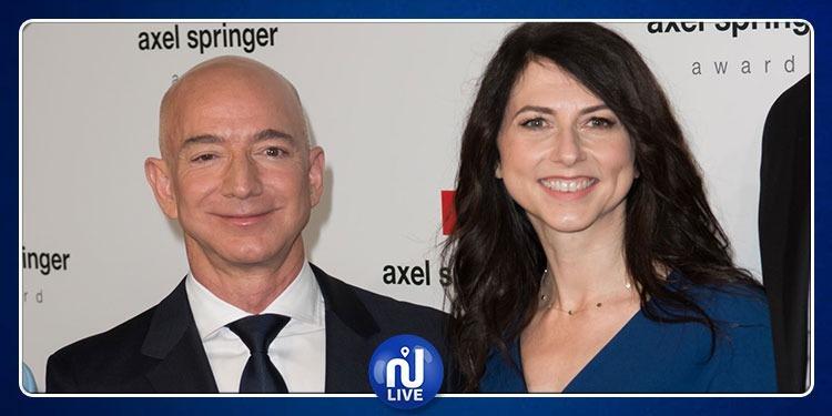 Le fondateur d'Amazon divorce : une séparation qui coûterait cher…