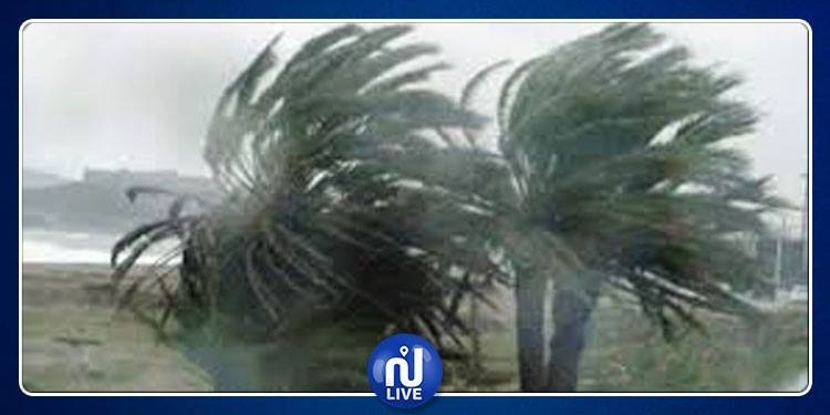 Alerte météo : Des vents très forts, dépassant les 80 km/h